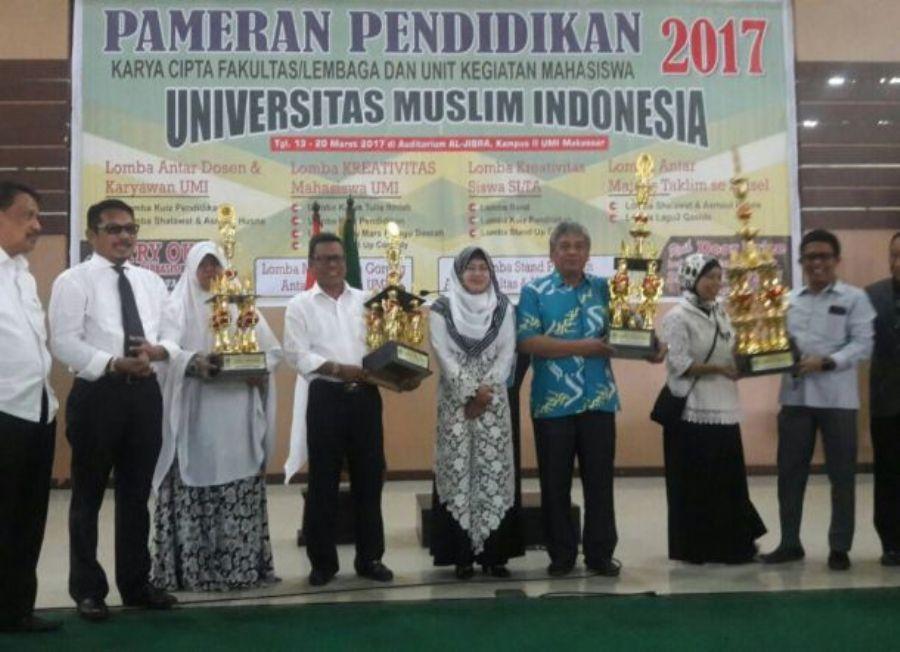 FKM UMI Raih Juara pada Ajang Pameran Pendidikan UMI