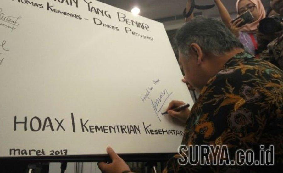 Lawan Berita Hoax Bidang Kesehatan, Kemenkes Kumpulkan Humas Seluruh Provinsi di Surabaya