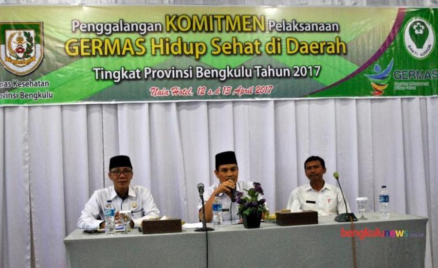 Mewujudkan Bengkulu Sehat, Dinkes Provinsi Galang Komitmen