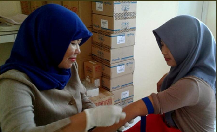 Ratusan Bumil di Cikuya Disosialisasikan Jampersal