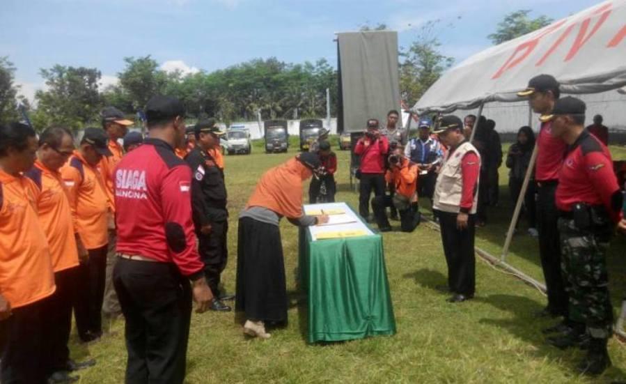 Siaga Bencana, FKM Unej Bekerjasama dengan BPBD Lumajang