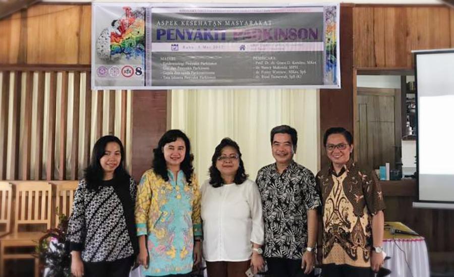 FKM Universitas Sam Ratulangi Unsrat, Perdossi dan Dinkes Tomohon Sukses Gelar Seminar Kesehatan