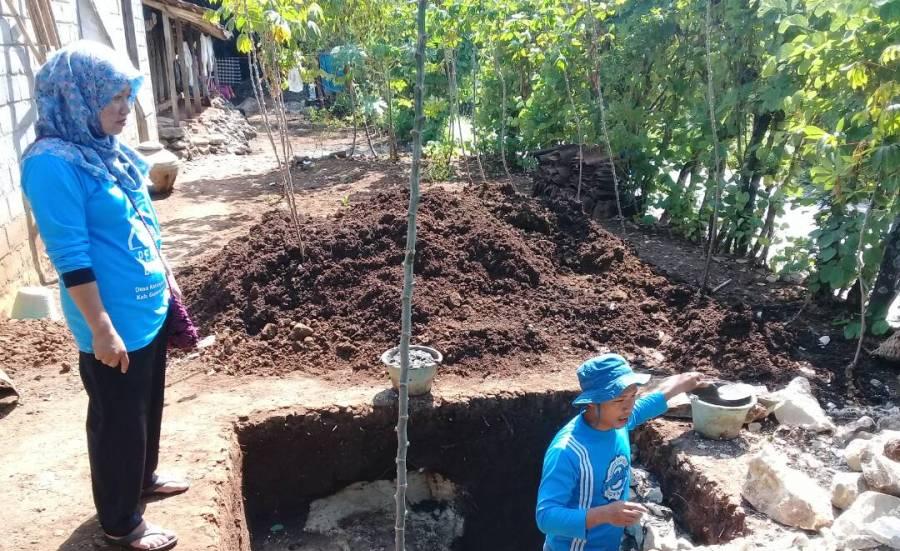 Kelompok Tabungan Jamban Dusun Nglebak Mulai Membangun Jamban Sehat