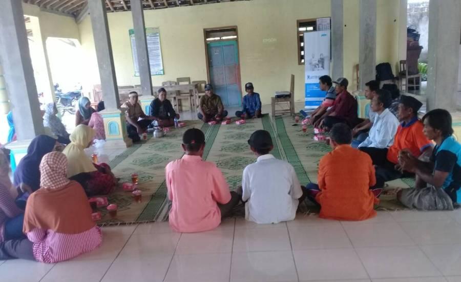 Kepala Desa Katongan Siap Distribusi Stimulan Jambanisasi Untuk 120 KK
