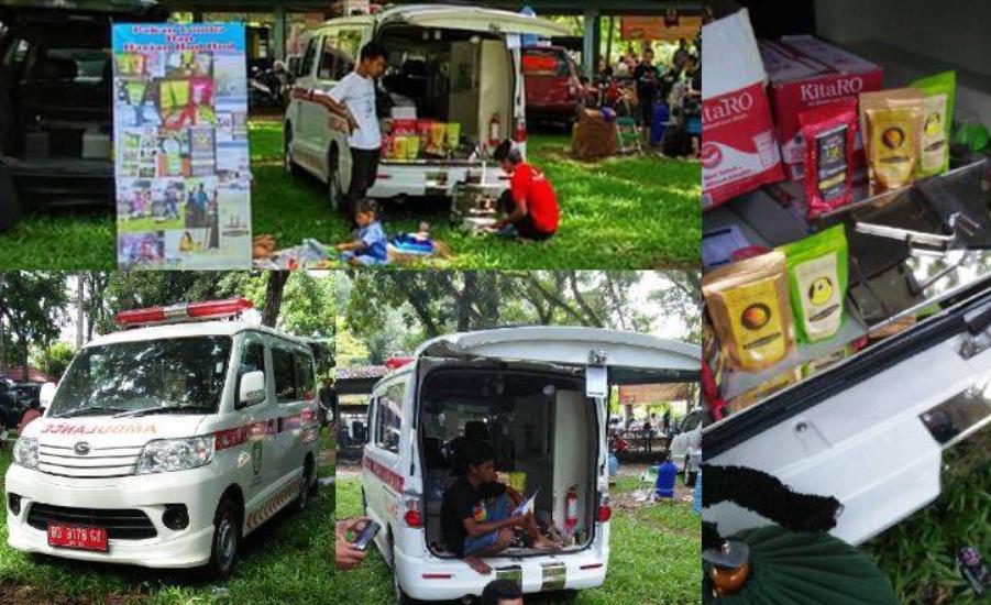 LAPOR, Ada Mobil Ambulans Puskesmas Dipakai Transportasi Lomba dan Jualan Pakan Burung