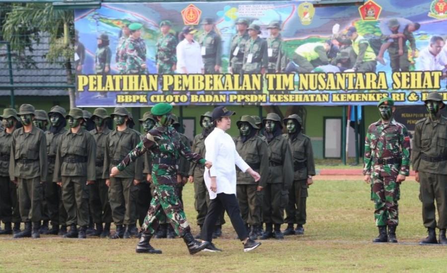 Lantik Tim Nusantara Sehat, Menko PMK, Ini Tugas Mulia