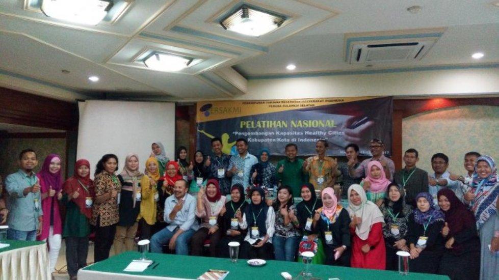 Persakmi Sulsel Gelar Pelatihan Nasional Untuk Wujudkan Kota Sehat