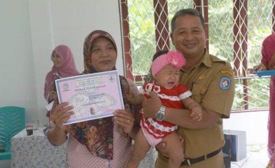 Puskesmas Kuala Mandor Berinovasi Pelayan Kesehatan Pada Bayi