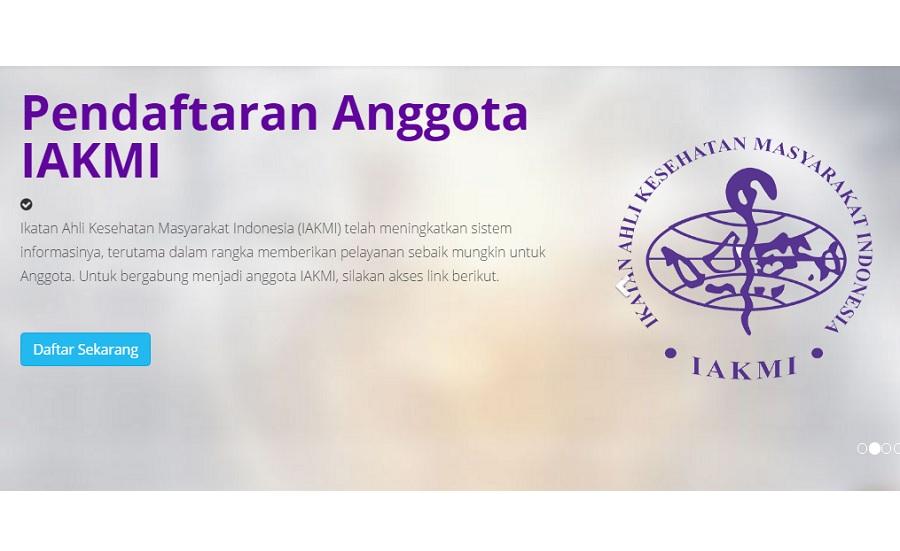 KTA IAKMI Kamu Bermasalah, Berikut Ini Daftar Pengda IAKMI se Indonesia