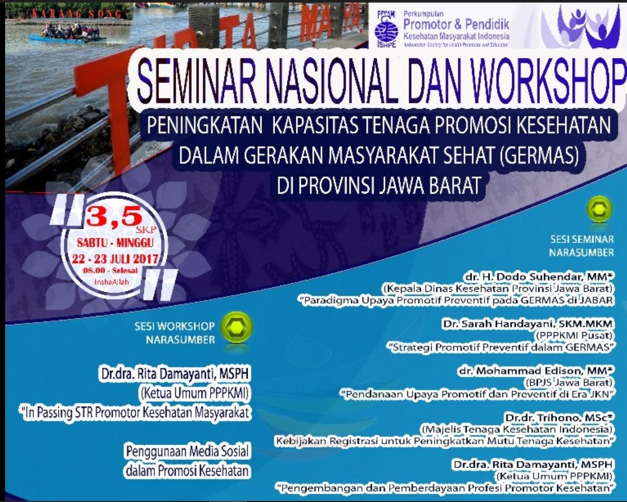 Seminar Nasional Pppkmi 2017, di Indramayu