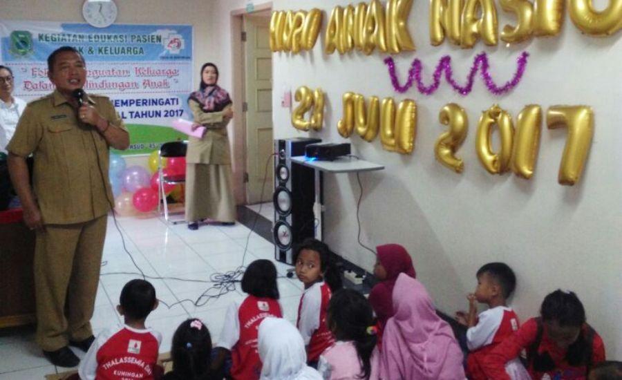 Acara Peringatan Hari Anak Nasional di RSUD 45 Kuningan