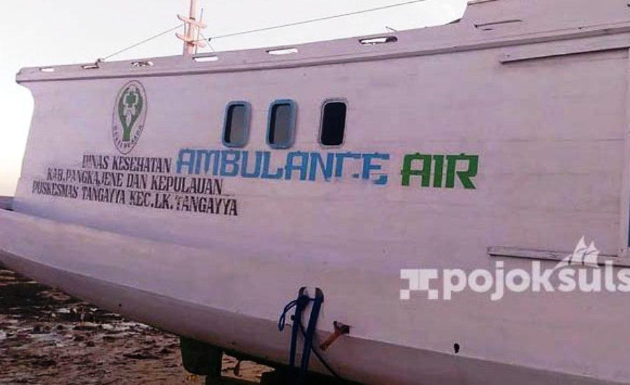 Diduga Spesifikasi Tidak Sesuai, Ambulance Senilai 300 Juta Mangkrak