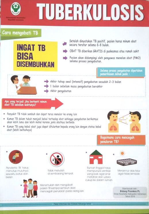 Ingat, TB Bisa Disembuhkan