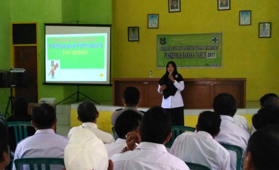 Komunikasi Lintas Sektor Kunci keberhasilan Pembangunan Kesehatan Masyarakat
