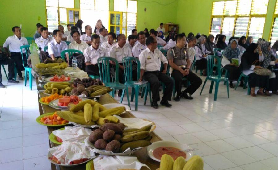 Menu Sehat dalam Lokmin Puskesmas Baraka
