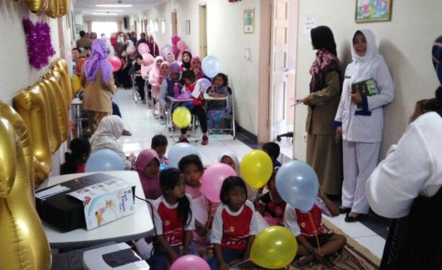 Meriah, Peringatan Hari Anak Nasional di RSUD 45 Kuningan