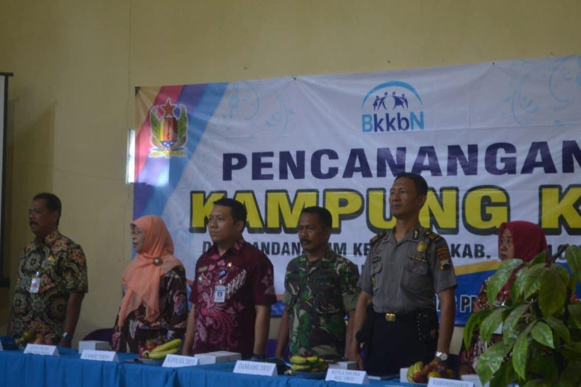 Opening Pencanangan Kampung KB di Kec Tirto Pekalongan