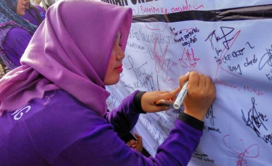 PAMI Lampung Kumpulkan Petisi Menolak RUU Pertembakauan