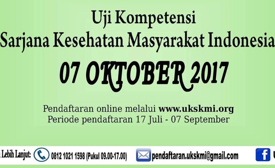 Panduan Alur Pendaftaran UKSKMI Periode 07 Oktober 2017