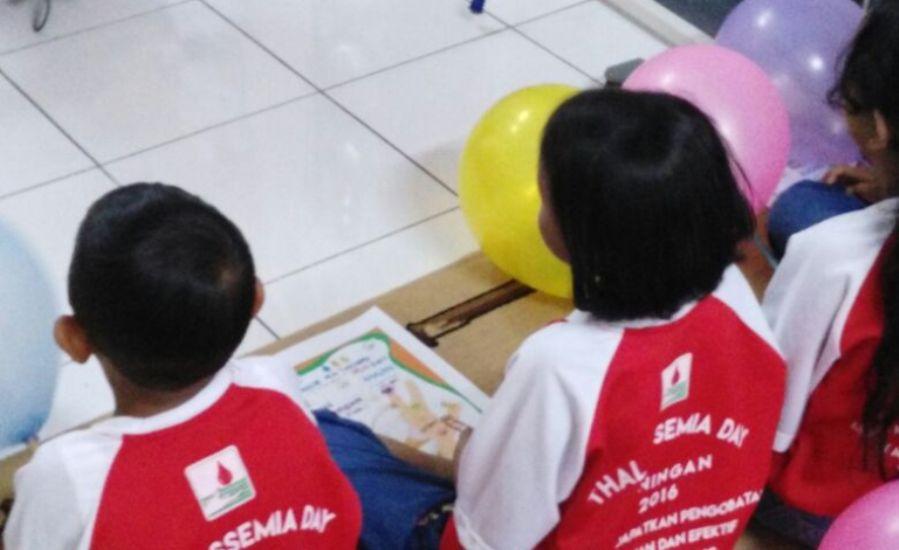 Peserta Peringatan Hari Anak Nasional di RSUD 45 Kuningan