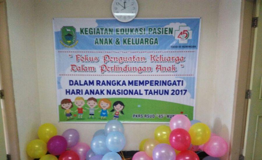 RSUD 45 Kuningan Peringati Hari Anak Nasional 2017