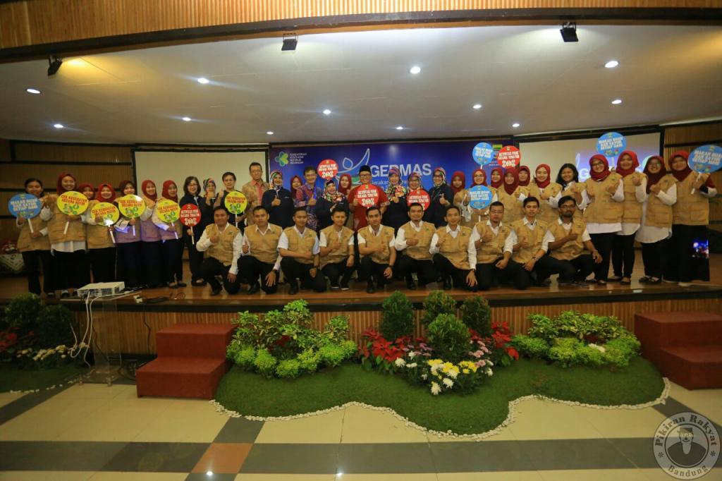 kader kesehatan di 30 UPT Puskesmas se-Kota Bandung
