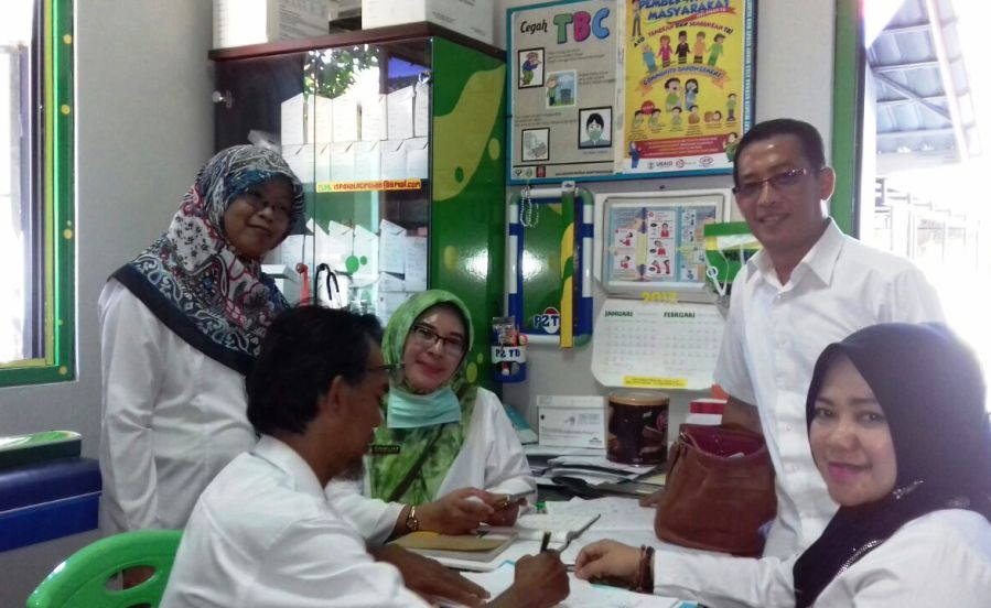 BKPM Provinsi Jawa Barat Lakukan Koordinasi dan Evaluasi Pelacakan TB Dengan Puskesmas