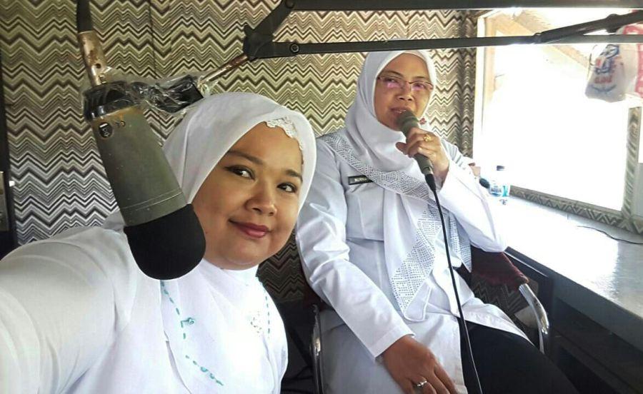 Dialog Interaktif di Radio Bersama PKM Cipanas Kenapa Harus Imunisasi MR