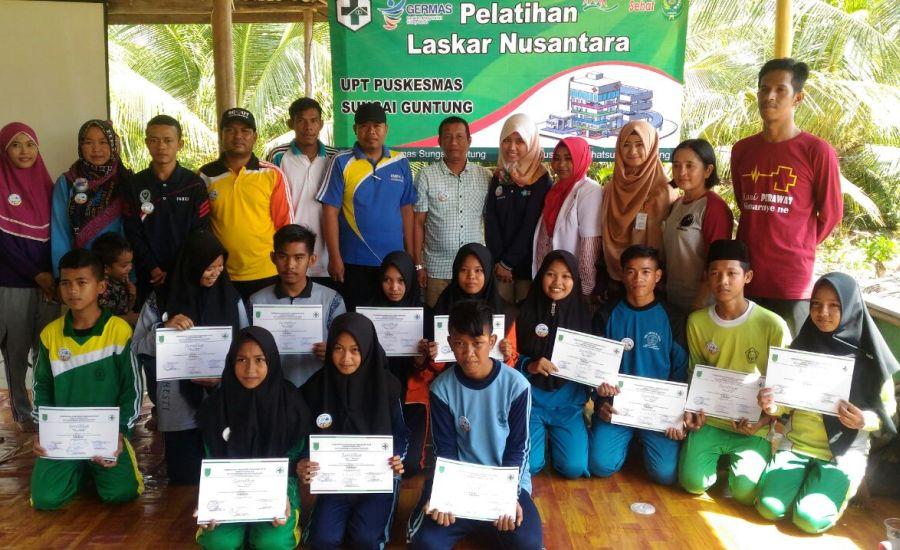 Laskar Nusantara Dilantik, Siap Jadi Agent of Change di Sekolah