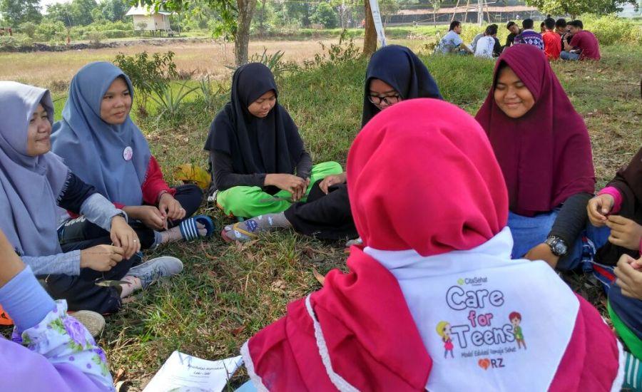 Peduli Kesehatan Remaja di Palembang, RZ dan Cita Sehat Punya Program Care For Teens