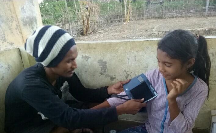 Pemeriksaan Kesehatan saat Posyandu Remaja