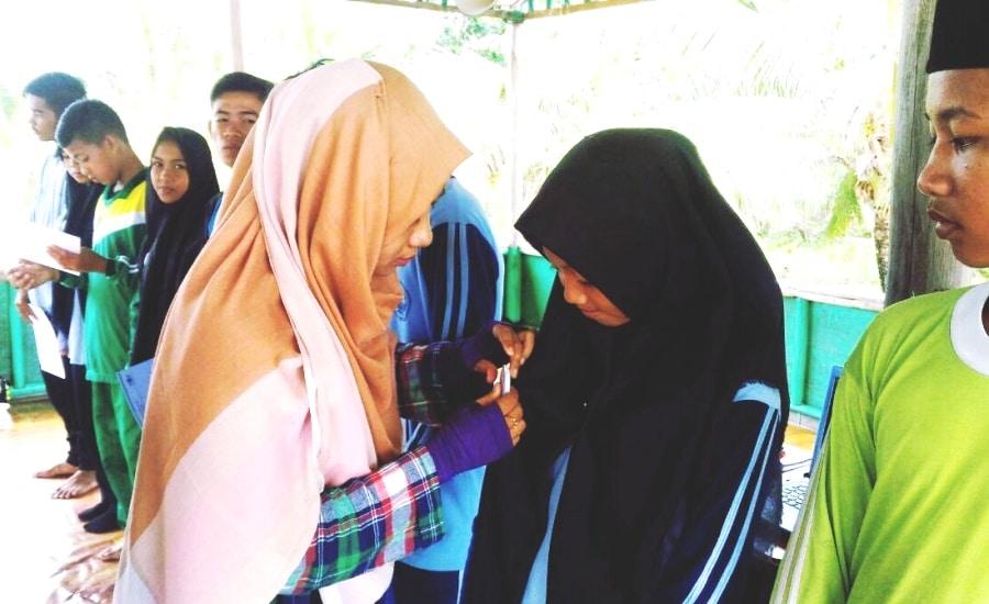 Penyematan Pin Laskar Nusantara