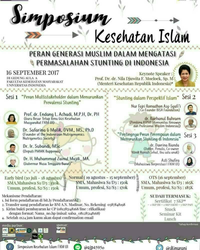 Peran Generasi Muslim dalam Mengatasi Permasalahan Stunting di Indonesia