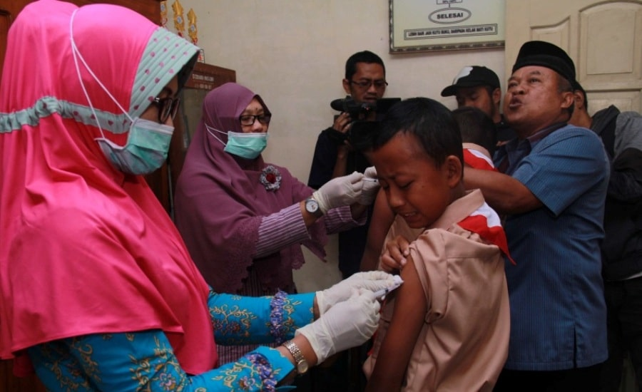 Sejumlah Sekolah di Temanggung Tolak Imunisasi MR