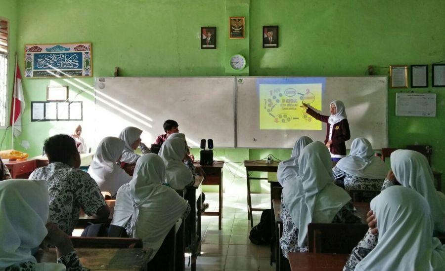 Suasana Kelas Penyuluhan Kesehatan Remaja