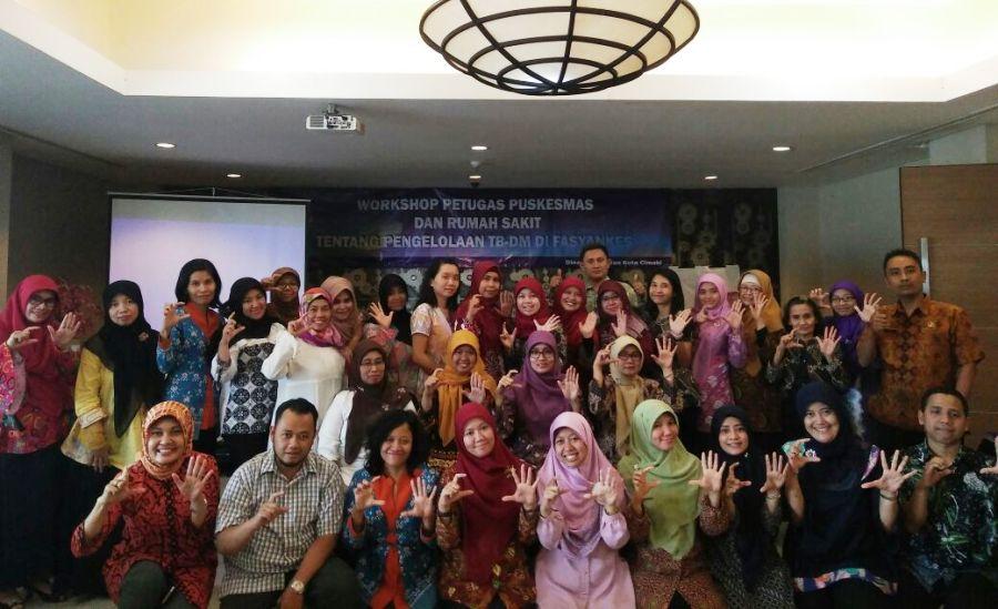 Turunkan Dampak Beban Ganda Penyakit TB-DM, Dinkes Kota Cimahi Gelar Workshop