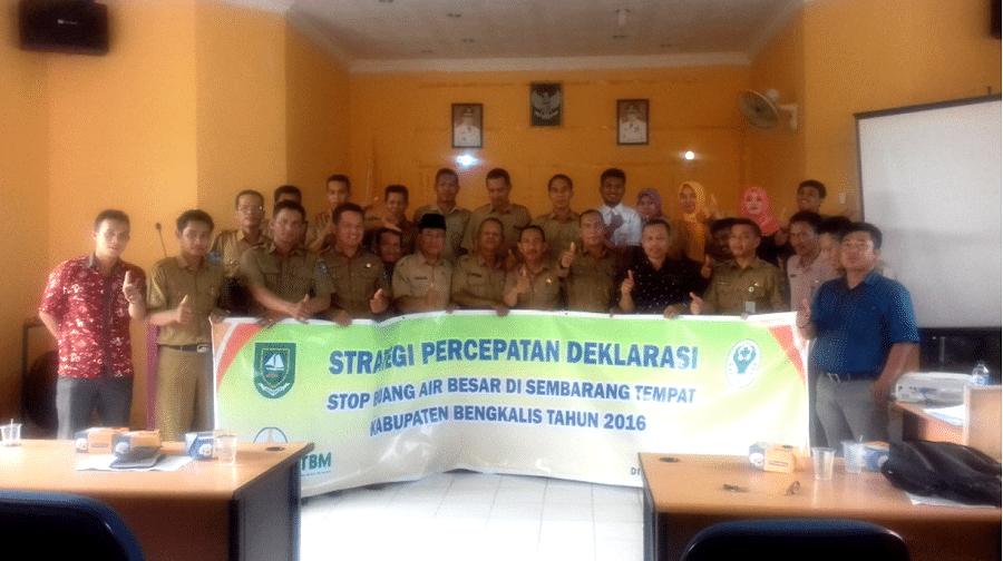 Untuk Mensukseskan STBM di Bantan, Peran Lintas Sektor dan Program Antar Puskesmas Sangat Penting