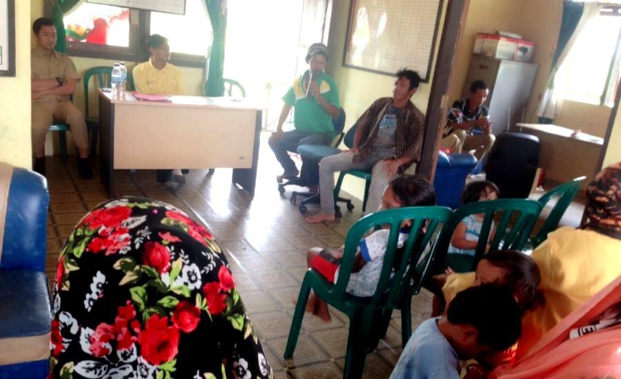Cegah Diare, UPT Puskesmas Pelangiran Adakan Sosialisasi di Desa Bagan Jaya
