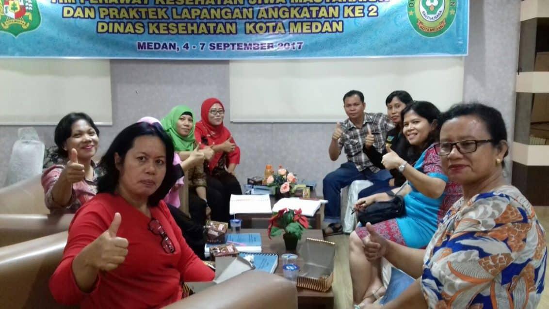 Dinkes Kota Medan Adakan Pembinaan Tim Perawatan Kesehatan Jiwa Masyarakat Bagi Petugas Puskesmas-3