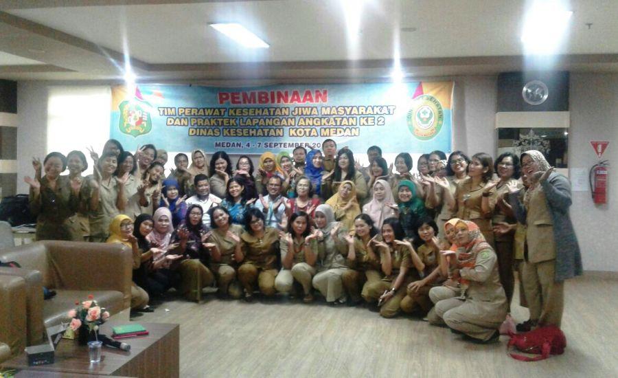 Dinkes Kota Medan Adakan Pembinaan Tim Perawatan Kesehatan Jiwa Masyarakat Bagi Petugas Puskesmas