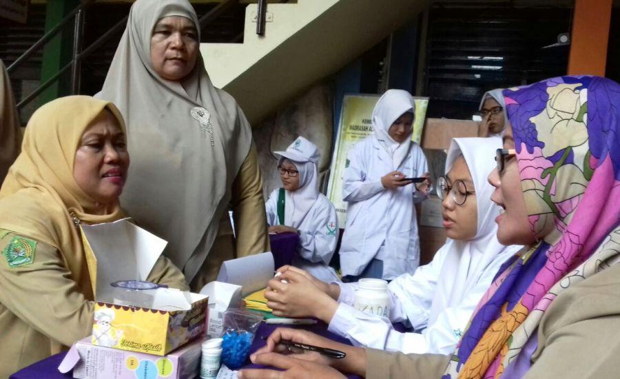Dinkes Kota Medan Launching Posbindu PTM Bagi Pelajar di Sekolah
