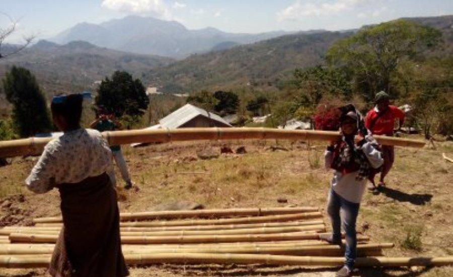 Ini Aksi Nyata Kami Tim Nusantara Sehat PKM Nualain Dari Batas Timor Leste - Indonesia