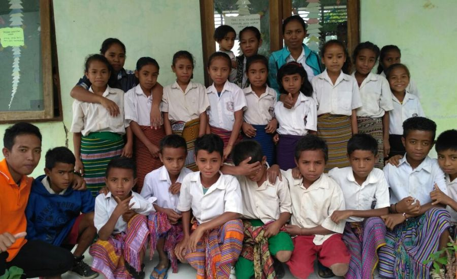 Nusantara Sehat Puskesmas Nualain Bentuk Kader Kesehatan Sekolah-2