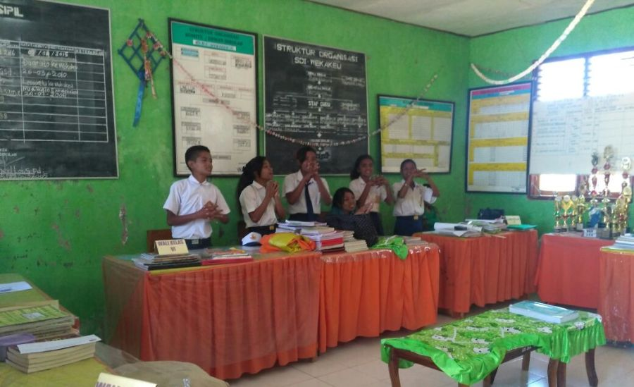 Nusantara Sehat Puskesmas Nualain Bentuk Kader Kesehatan Sekolah-3