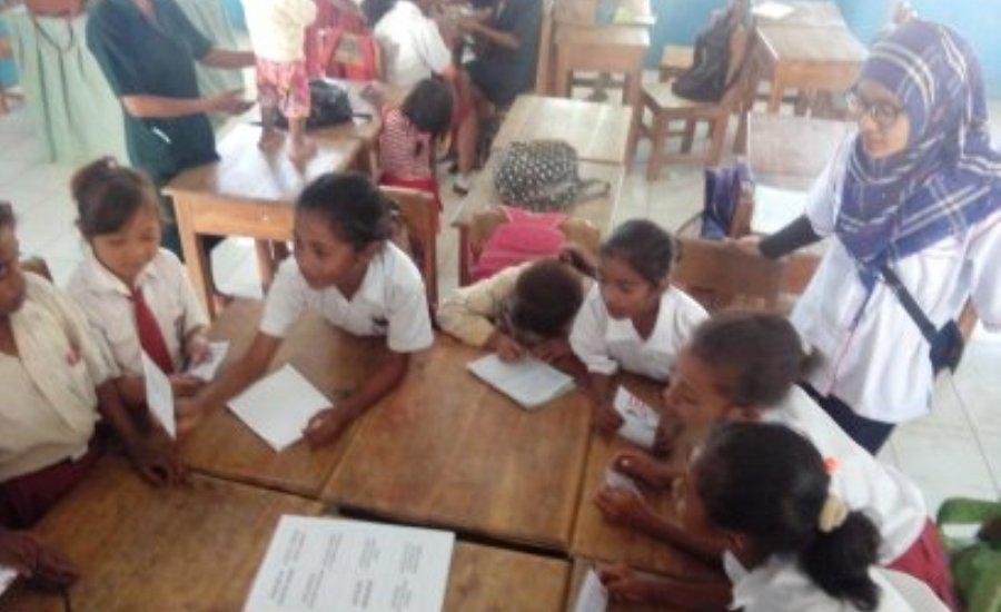 Nusantara Sehat Puskesmas Nualain Bentuk Kader Kesehatan Sekolah-5