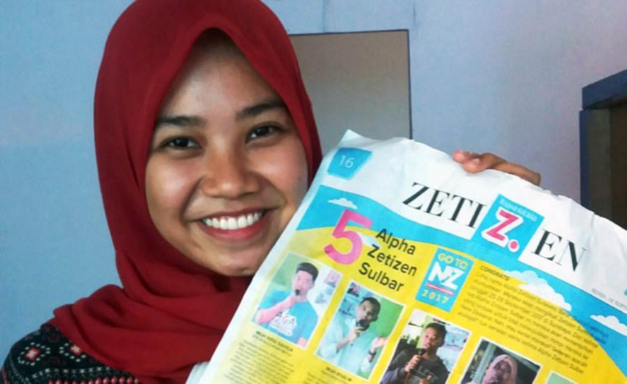 Olah Barang Bekas Saat PBL, Bawa Mahasiswi Kesmas Ini Jadi Alpha Zetizen Sulawesi Barat