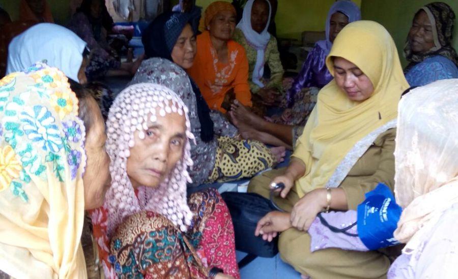 Posbindu PTM Hipertensi Puskesmas Krangkeng Indramayu