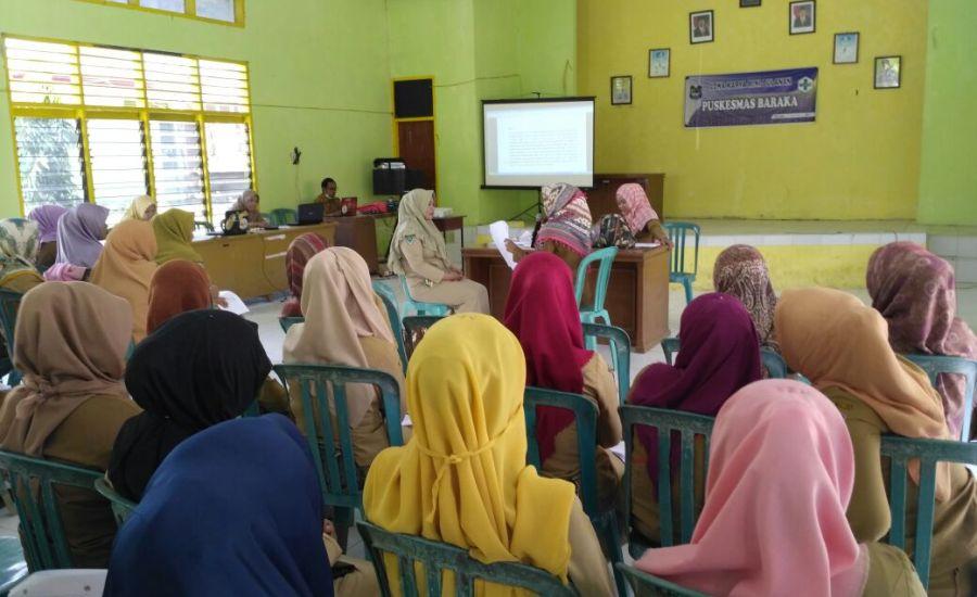 Puskesmas Baraka Gelar Pelatihan Pojok Konseling Adiksi Narkoba-1
