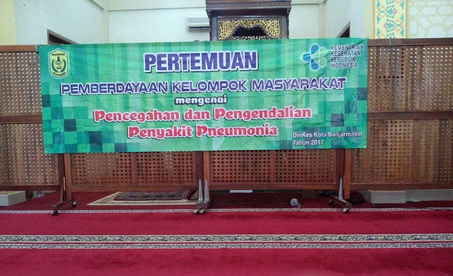 Puskesmas Terminal Kota Banjarmasin Sosialisasikan Pencegahan dan Pengendalian Pneumonia
