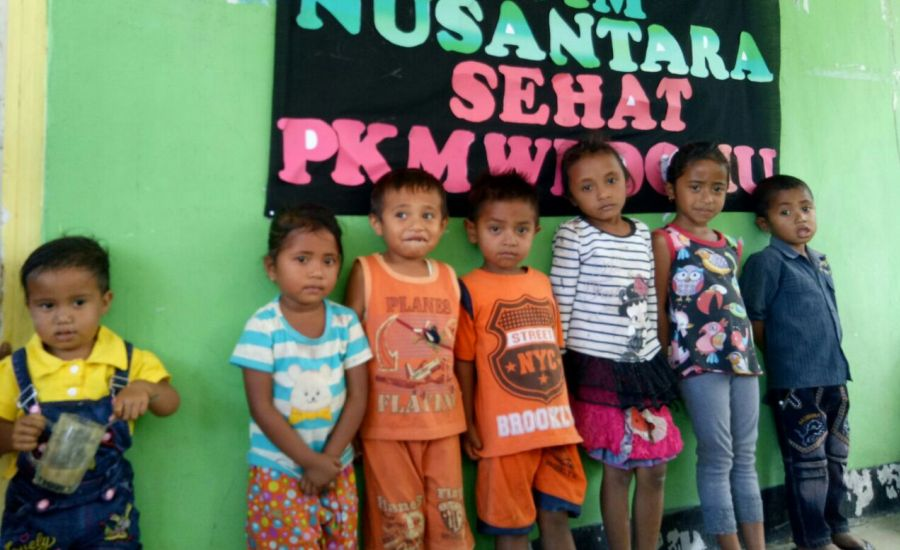 Puskesmas Wedomu Bersama Tim Nusantara Sehat Lakukan Lomba Bayi Balita